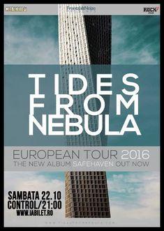 Ultimele zile de Earlybird pentru concertul Tides From Nebula!