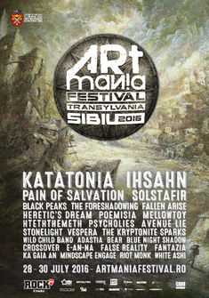 Katatonia, Ihsahn, Pain of Salvation si Solstafir la ARTmania 2016