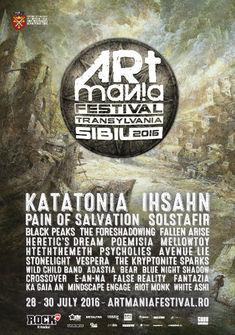 Programul Artmania Festival 2016