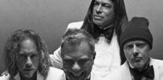 Metallica au pozat pentru catalogul casei de moda Brioni