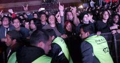 Megadeth au anulat concertul din Paraguay dupa ce publicul a rupt gardurile din fata scenei