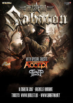 Sabaton si Accept la Bucuresti: Program si Reguli de Acces