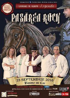 Pasarea Rock lanseaza primul album muzical, Legenda, printr-un spectacol in premiera europeana