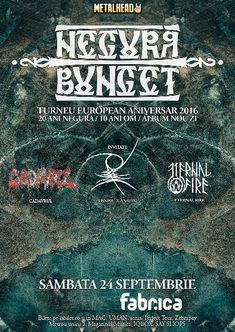 Modificari de line-up si program pentru concertul Negura Bunget