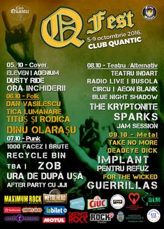 Q Fest va avea loc in perioada 5-9 Octombrie in Club Quantic