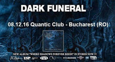 Dark Funeral concerteaza pe 8 Decembrie in Club Quantic