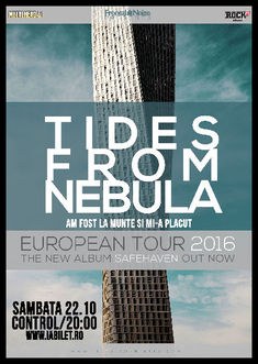 TIDES FROM NEBULA in concert pe 22 octombrie in Bucuresti la Control