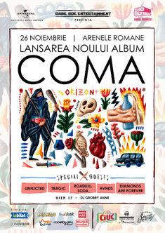 Poze de la lansarea noului album Coma, Orizont