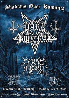 Programul si regulile de acces pentru concertul Dark Funeral, Carach Angren, Syn Ze Sase Tri si Eternal Fire de la Bucuresti