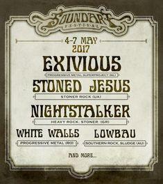 Nightstalker vor urca pe scena festivalului SoundArt