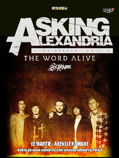Asking Alexandria la Bucuresti: Program si Reguli de Acces