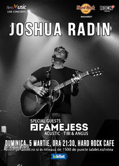 Tibi & Angus de la Fameless vor canta cu Joshua Radin