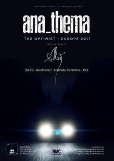 O saptamana pana la concertul Anathema: mesajul trupei pentru fani