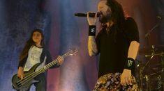 Fiul lui Robert Trujillo a cantat cu KORN la Bogota