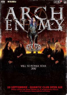 Poze de la concertul Arch Enemy si Jinjer din Quantic