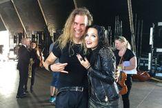 Viralul zilei: Tarja a cantat cu cel mai fericit dirijior