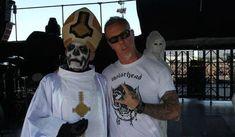 James Hetfield a fost vazut in public la un concert Ghost