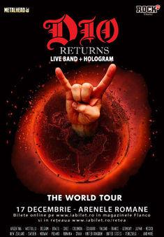 Tim Ripper Owens vine cu Dio Disciples si Holograma lui Dio la Bucuresti pe 17 decembrie!