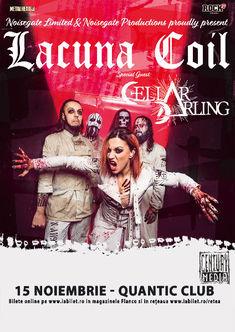 Lacuna Coil si Cellar Darling la Bucuresti: Ultima saptamana de Presale 1