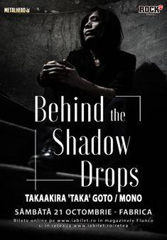 Orkid va canta alaturi de Taka / Mono sambata la fabrica la Behind the Shadow Drops