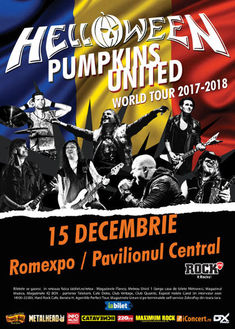 Concert Helloween pe 15 Decembrie in Bucuresti la Romexpo