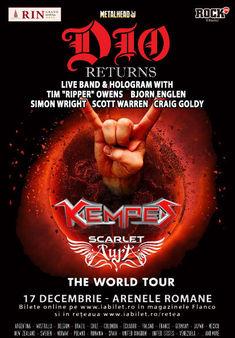 Scarlet Aura are un invitat special pentru show-ul ce deschide concertul DIO Disciples