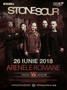 Nothing More vor deschide concertul Stone Sour de la Arenele Romane