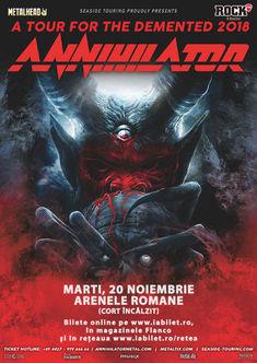 Turneul Annihilator se amana pentru 2019