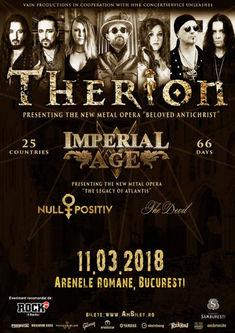 Concertul Therion se muta in clubul Quantic din Bucuresti