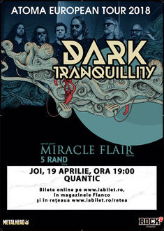 Poze de la concertul Dark Tranquillity din Quantic