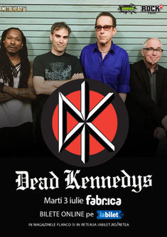 The Dead Ceausescus si Rock n Ghena canta alaturi de Dead Kennedys la Bucuresti pe 3 iulie