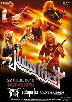Judas Priest - Firepower la Bucuresti pe 22 iulie la Romexpo