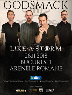 Godsmack la Arenele Romane: Golden Circle Sold Out!