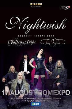 Nightwish '20 de ani' la Romexpo pe 17 August