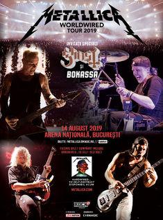 Programul si regulile de acces la concertul Metallica din 14 august, de pe Arena Nationala, Bucuresti