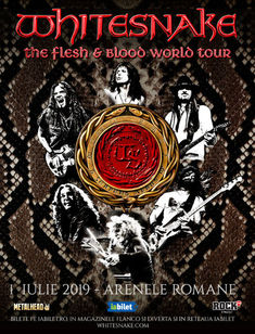 Whitesnake la Arenele Romane: Categoria Acces General este Sold Out!