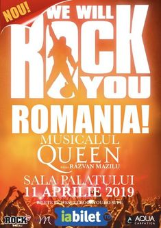 We Will Rock You: A doua reprezentatie pe 11 aprilie!