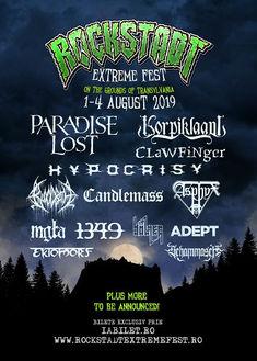 Unearth la Rockstadt Extreme Fest 2019