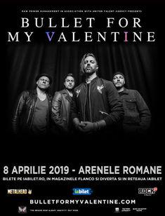 Enterfire vor deschide concertul Bullet for My Valentine de la Bucuresti