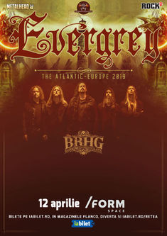 Concert Evergrey la Form Space in Cluj pe 12 Aprilie