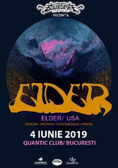 SoundArt prezinta Elder live in Quantic pe 4 iunie
