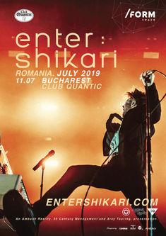 Poze de la concertul Enter Shikari din Quantic