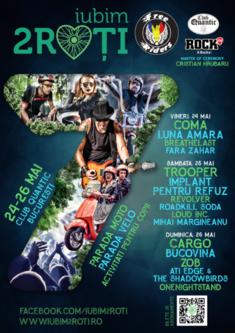 Ultimul weekend din mai inseamna a saptea editie Iubim 2 Roti!