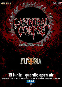 Cannibal Corpse in Quantic: Program si Reguli de acces