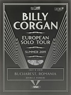 Billy Corgan la Bucuresti: Program si reguli de acces