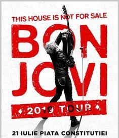 Concert Bon Jovi pe 21 Iulie in Piata Constitutiei
