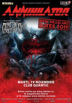 Magnetic va deschide concertul Annihilator