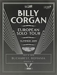 Poze de la concertul Billy Corgan din Beraria H