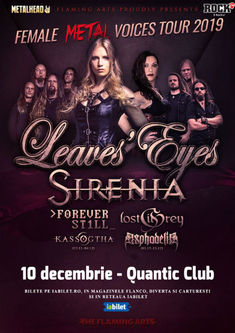 The Female Metal Voices Tour la Bucuresti: Program si Reguli de Acces