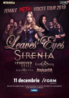 The Female Metal Voices Tour 2019 la Cluj-Napoca pe 11 Decembrie